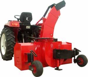 Traktorska freza za snijeg